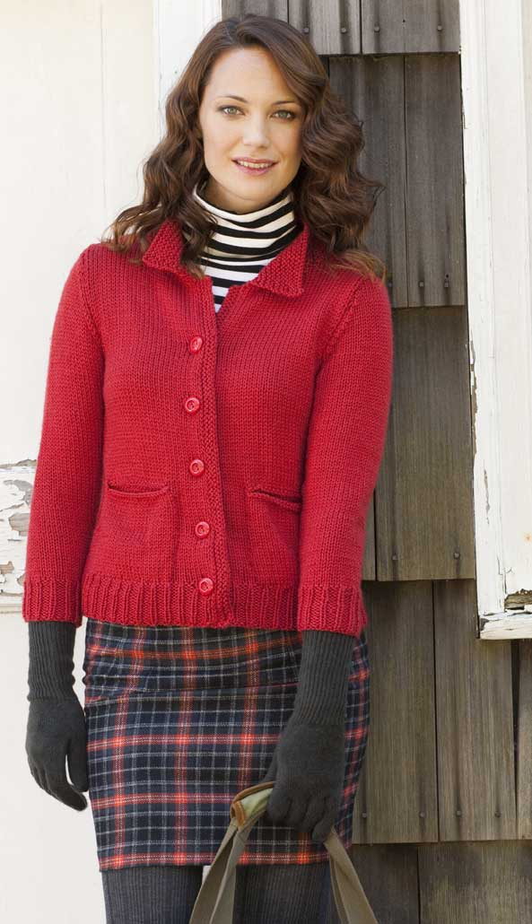 Knitting Pattern For Fitted Jacket : Cascade Yarns Blog: Knit Simple Winter 2010 - Fitted Jacket - by Mari Lynn Pa...