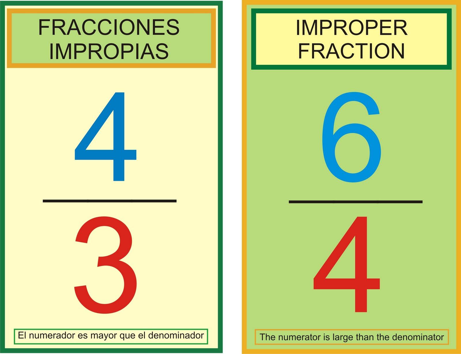 BLOGICMATES: FRACCIONES IMPROPIAS