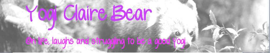 Yogi Claire Bear