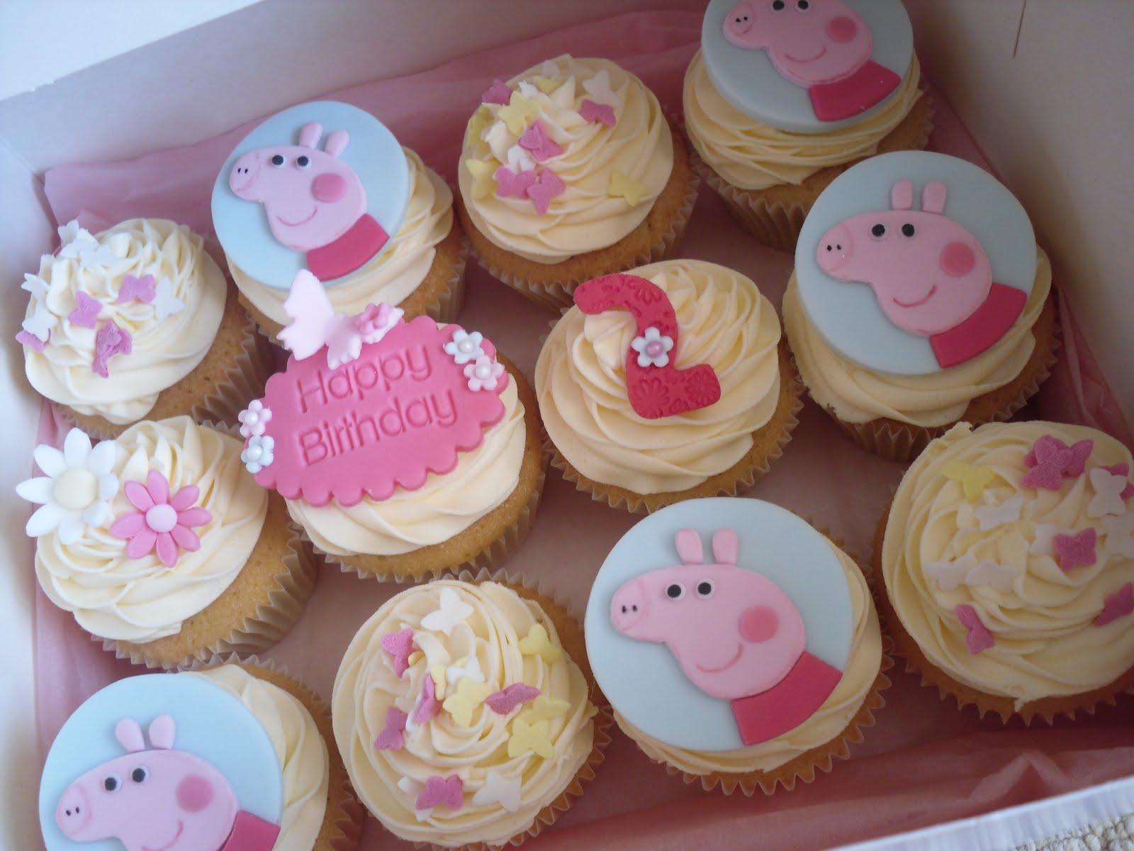 Pig Cupcake Ideas