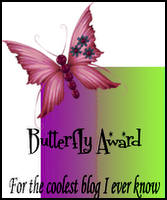 The Fabulous-Coolest Butterfly Blog Award