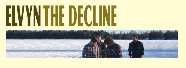 Elvyn ~  Internationally acclaimed album The Decline available now!