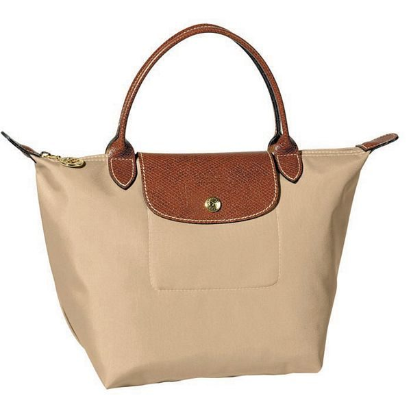 Sac A Main Beige Longchamps : Brandgps longchamp le pliage folding handbag