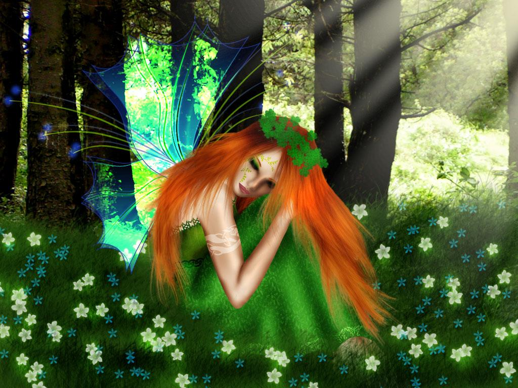 forest fairy wallpaper - photo #25