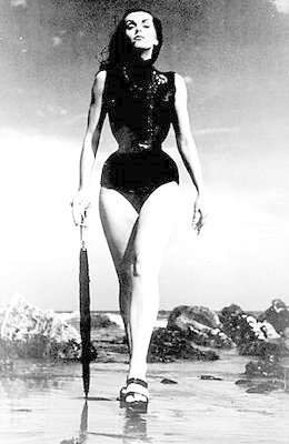 Deathday: Vampira (Maila Nurmi) 1922-2008 RIP