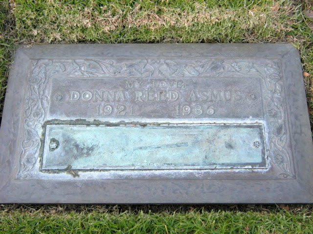 Celebrity grave actress donna reed 1986 quot it s a wonderful life