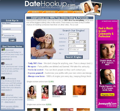 www.DateHookup.com : Sign In to DateHookUp for Free Online Dating