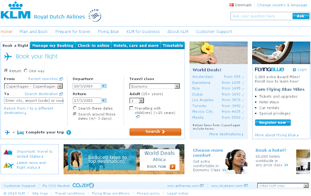 Www.klm.com - Flight Timetable &amp; Schedule - KLM Airlines Flight Status