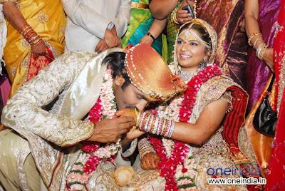 Vishnuvardhan Marriage Photos     Actor Vishnuvardhan WeddingVishnuvardhan Marriage Photos Kannada Film Actor