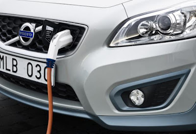 Volvo C30 Hydrogen-Electric Car unveiled