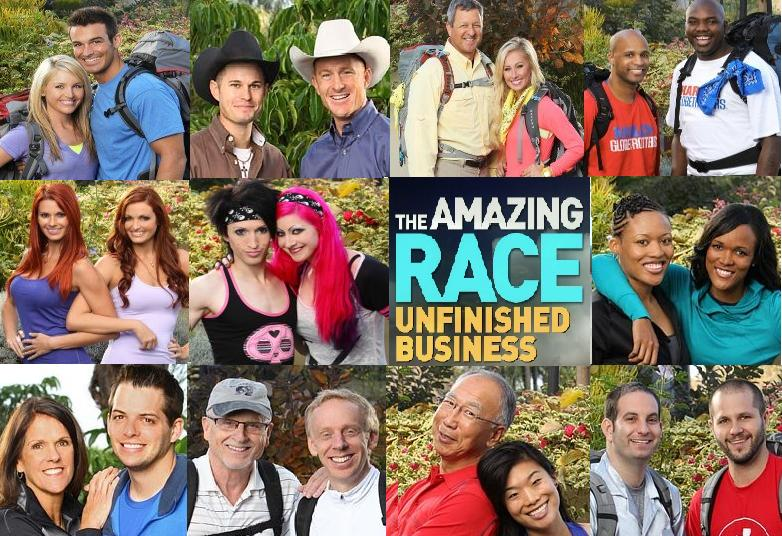 Amazing Race : Unfinished Business' Cast announced