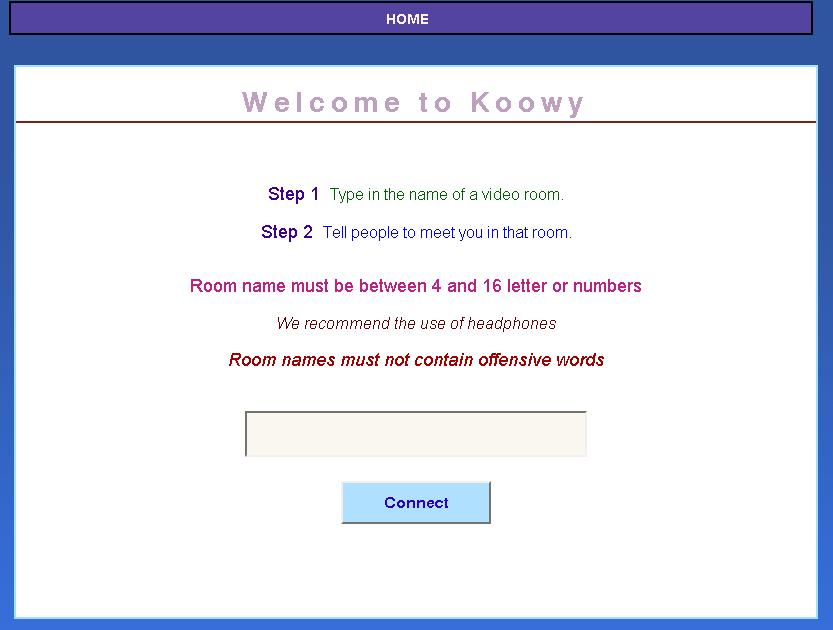 Koowy Chat Rooms