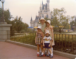 My sisters and me at Disney circa 1978