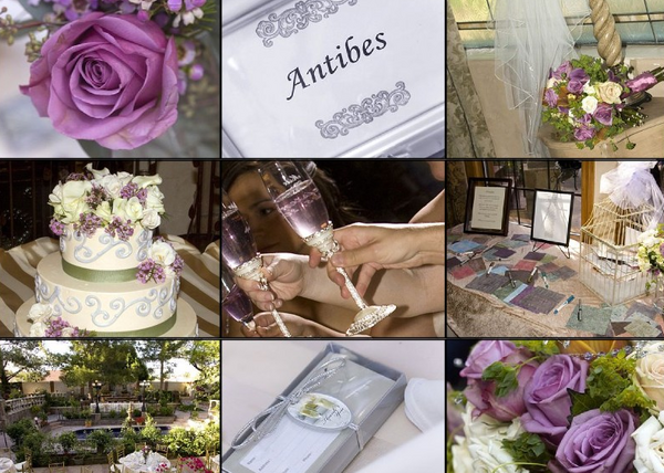 provence wedding centerpieces