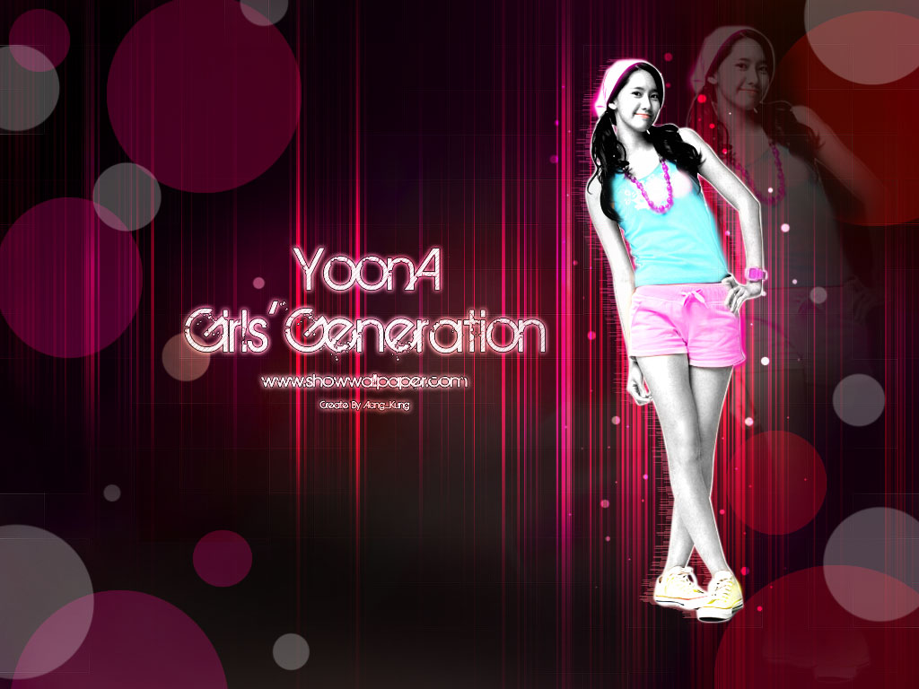GIRLS' GENERATION- The power of 9! - Page 4 Yoona+Wallpaper-20
