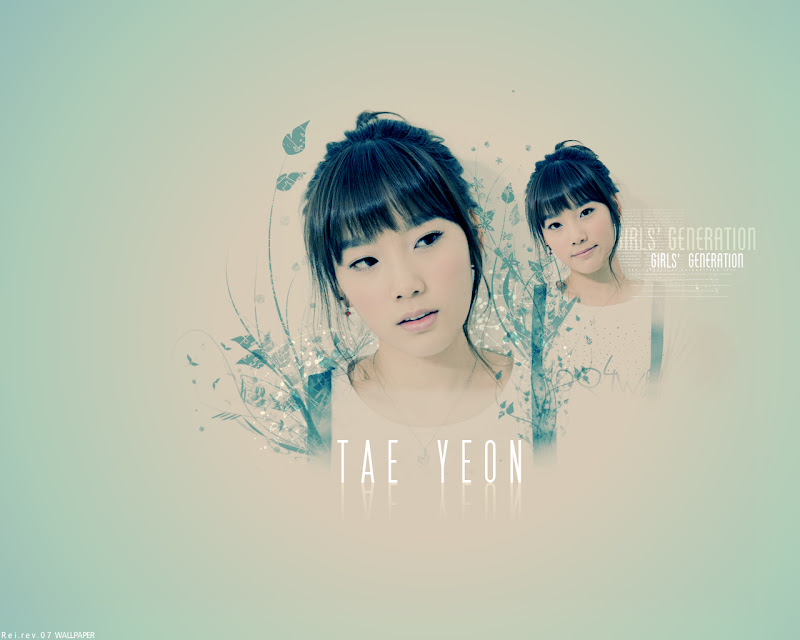 Taeyeon - Free Desktop Girl generation Wallpaper Computer Download