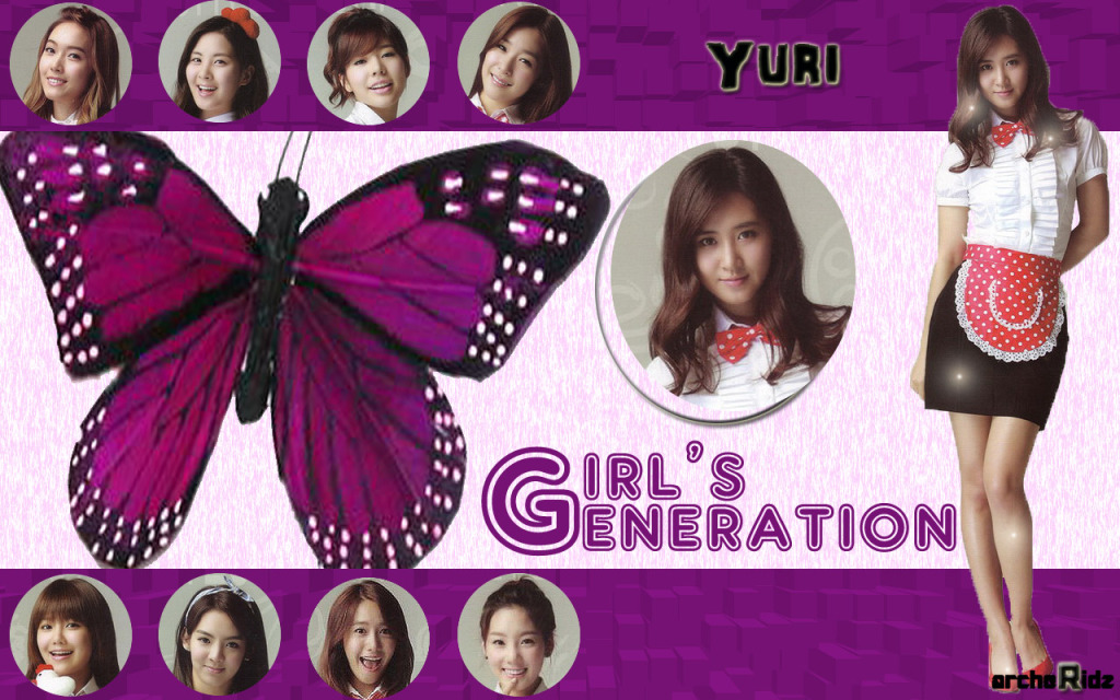 yuri wallpaper. Yuri SNSD Wallpaper