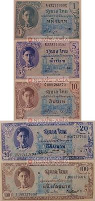 Thailand Series 8 banknote Baht