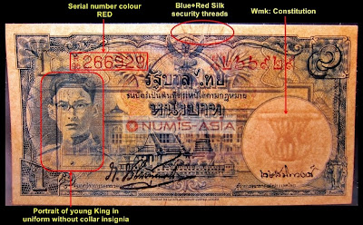 Thailand Series 9 banknote type