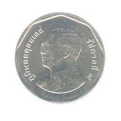 5 Baht 52010 obverse