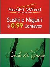 SUSHI E NIGUIRI Á 0,99 POR PEÇA