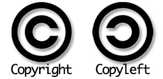 Copyright de um lado, Copyleft de outro