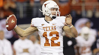 Watch Colt McCoy Injury Reply Video Texas vs Alabama