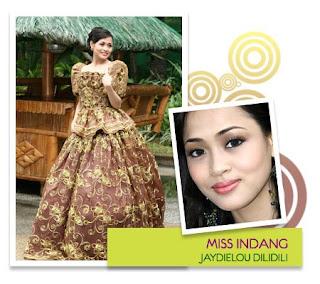 Miss Congeniality - Jaydielou B. Dilidili (Municipality of Indang)