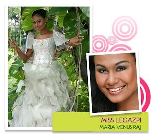 Miss Philippines EcoTourism 2008 - Maria Venus B. Raj (Legazpi City)