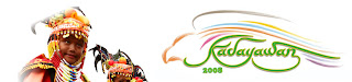 The official banner of Kadayawan Festival 2008