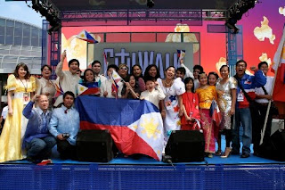 Team Philippines during the WCOPA 2008 in Hollywood.