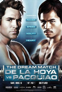 Oscar 'Golden Boy' De La Hoya vs Manny 'Pacman' Pacquiao : The Dream Match