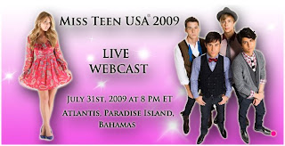 Watch 2009 Miss Teen USA Live Webcast Video