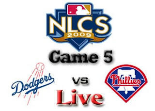 Watch Los Angeles Dodgers vs. Philadelphia Phillies Game 5 Live Online