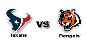 Watch NFL  Houston Texans vs. Cincinnati Bengals AFC North Live Online