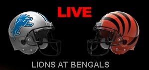 Watch NFL Live Detroit Lions vs Cincinnati Bengals Online Streaming