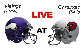 Watch Minnesota Vikings vs Arizona Cardinals Live Streaming Online