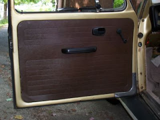 The stock door panels are fiberboard and covered with a vinyl and for the most part are OK but I was adding a new stereo and needed to cut new speaker ... : beetle door - pezcame.com
