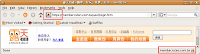 【圖片:Firefox 瀏覽器的網址列和狀態列提供的加密連線標示】