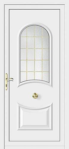 Instalaciones comerciales benidorm puertas decoradas en for Puertas de cristal decoradas