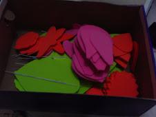 Curso de arranjos de flores em EVA!!
