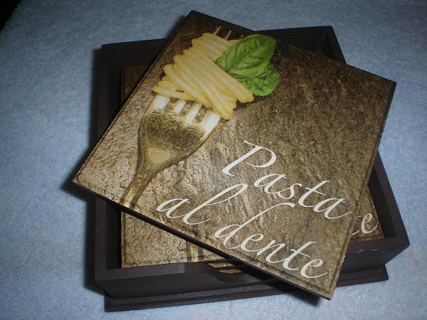 Descanso de Panelas (Pasta Al Dente) - R$ 30,00