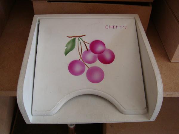 Porta Guardanapo Cherry - R$ 12,00