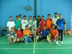 Pertandingan badminton T.I.Cempaka