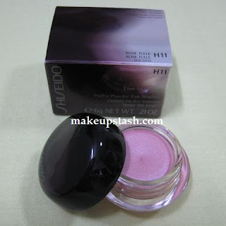 Review | Shiseido Hydro Powder Eye Shadow in H11 Rose Tulle