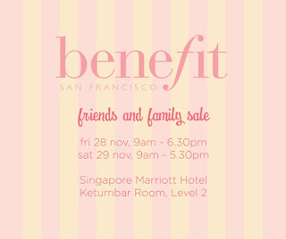 Benefit Friends and Family Sale
