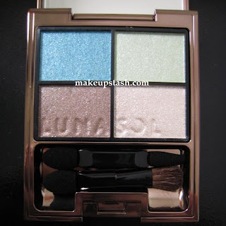 EOTD | Lunasol Sheer Contrast Eyes in EX01 Blue Green Coral