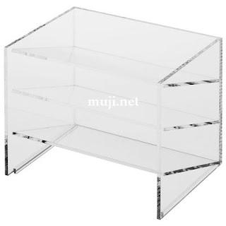 Muji Acrylic Shelves