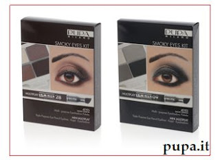 Pupa Smoky Eyes Kit