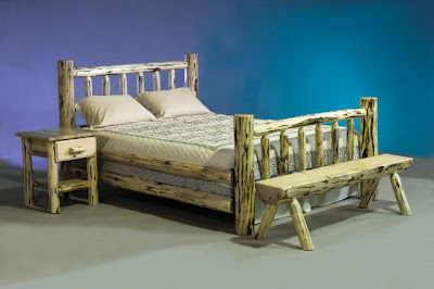Log Bedroom Furniture Sets